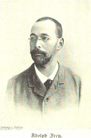 Adolf Frey - Image: Adolf Frey