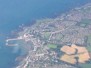 Aerial View of Donaghadee.