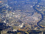 Aerial view of New Brunswick, New Jersey, September 2015.JPG