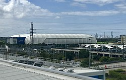 Aerial view of Robina Stadium, Queensland.jpg