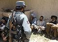 Afghan Commandos, national police reach out to Kandahar community DVIDS413917.jpg
