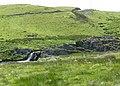 Afon Camddwr waterfall near Nantymaen, Ceredigion - geograph.org.uk - 910017.jpg
