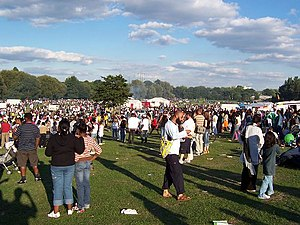 Perry Park (Birmingham) - Image: After the Carnival geograph.org.uk 35655