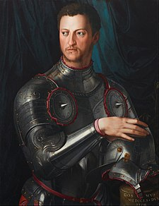 Agnolo Bronzino - Cosimo I de' Medici in armour - Google Art Project.jpg