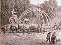 Aguadores en la fuente de Cibeles de Madrid - grabado ca. 1800.jpg