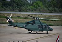 AgustaWestland AW139 of the Royal Thai Army at Khon Kaen-KKC (2).jpg