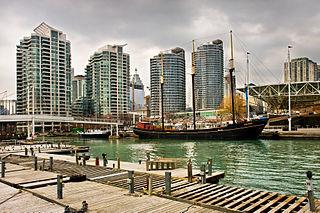 Harbourfront (Toronto) Neighbourhood in Toronto, Ontario, Canada