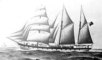 Anchor Line (steamship company) - Image: Ailsa Craig (ship, 1860) SLV H99.220 1293