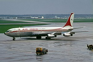Air India Flight 101 - An Air India Boeing 707 similar to the one involved
