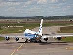 AirBridgeCargo Airlines Boeing 747-8HVF VQ-BRH at HEL 05JUN2015 02.JPG