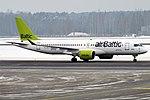 Air Baltic, YL-CSJ, Airbus A220-300 (32789713288).jpg