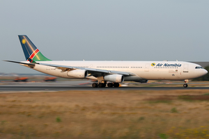 Air Namibia - An Air Namibia Airbus A340-300 at Frankfurt Airport in 2013.