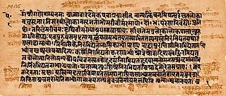 One of the ancient Sanskrit scriptures of Hinduism