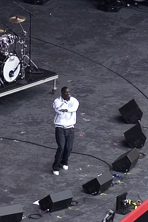 Akon production discography - Akon performing at the Live Earth concert in New Jersey.