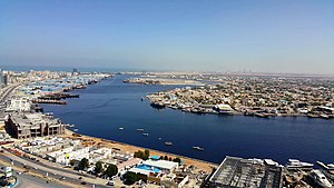 Emirate of Ajman - Al Rashidiya 1 district and port