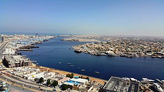Emirate of Ajman - Al Rashidiya 1 district and port