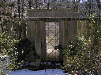 Albert Lasker - The mausoleum of Albert Lasker