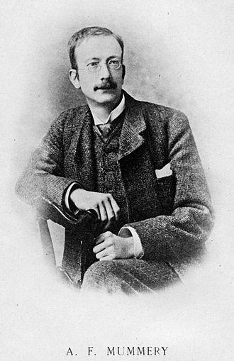 Albert F. Mummery - Image: Albert Mummery