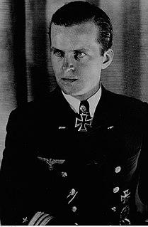 German navy officer and world war II U-boat commander