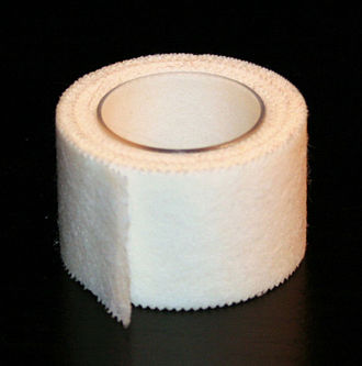 Surgical tape - Albupore surgical tape, similar to Micropore