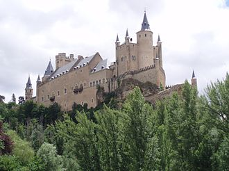 Segovia - Alcázar of Segovia.