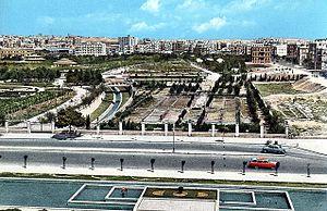 Queiq River - Image: Aleppo 1950s
