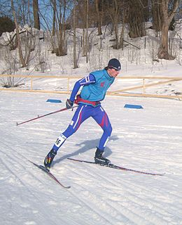 Aleš Vodseďálek Czech Olympian and Nordic combined skier