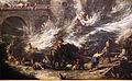 Alessandro magnasco e anton francesco peruzzini, burrasca con ponte e torre, ante 1700 ca. 03.JPG