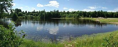 How to get to Aleti Järv with public transit - About the place