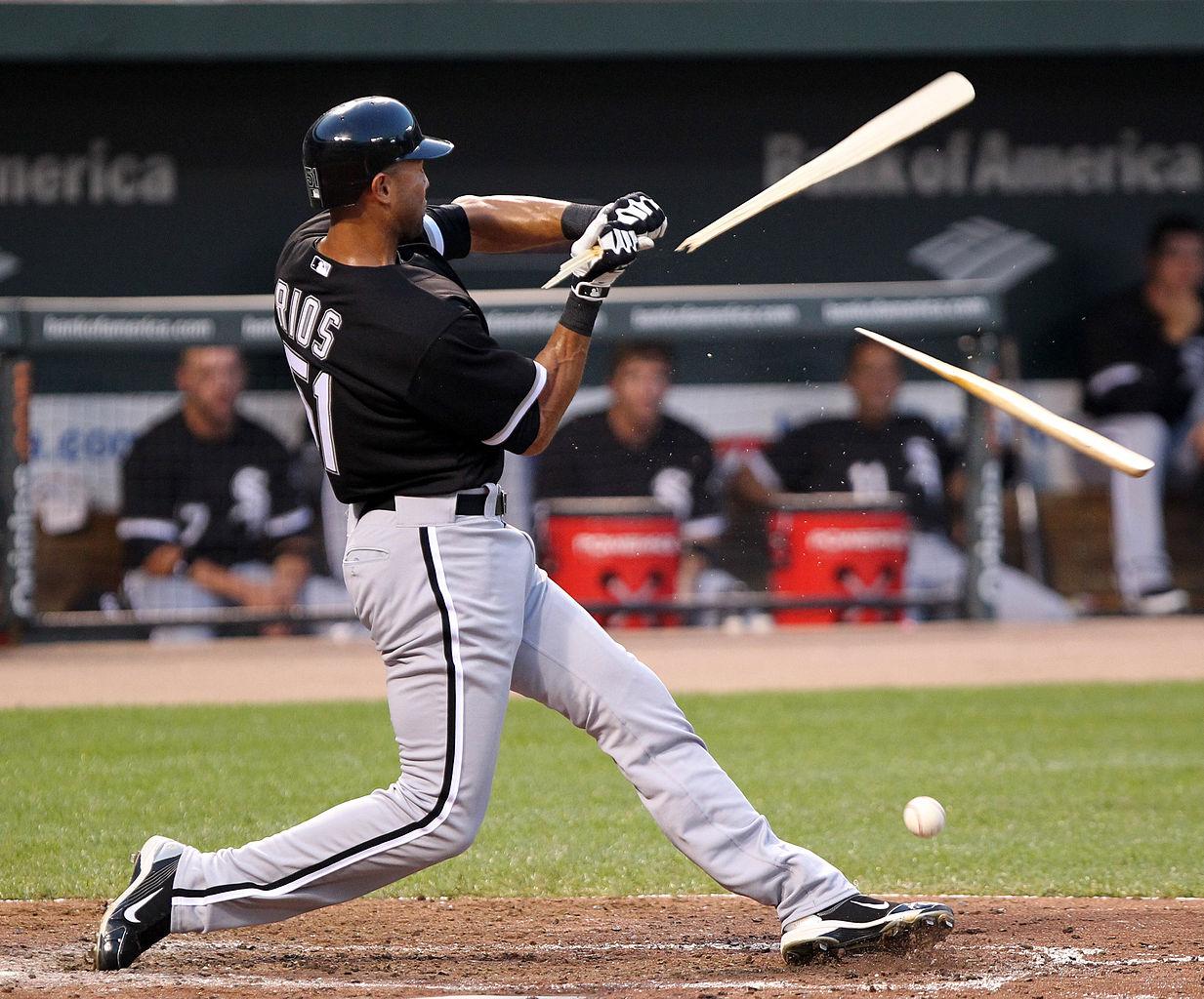 why maple baseball bats explode business insider