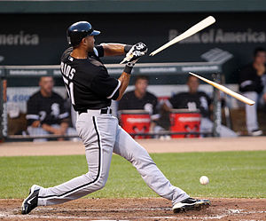 Alex Ríos - Rios at bat with the White Sox