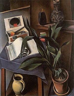 Alexander Kanoldt - Alexander Kanoldt, Still Life II 1922