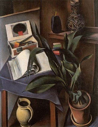 Magic realism - Alexander Kanoldt, Still Life II 1922