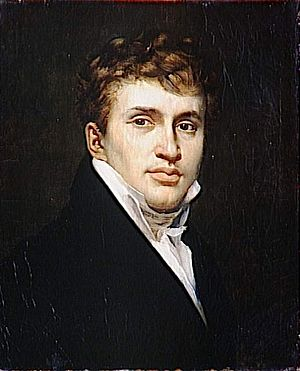 Abel de Pujol - Self-portrait, 1812