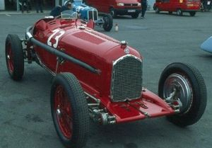 1935 Grand Prix season - Scuderia Ferrari were the works Alfa Romeo team for the 1935 season, and raced the P3 model.