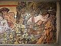Alfons mucha, l'epoca romana e l'arrivo degli slavi, dipinto per padiglione bosnia-h. all'esp. univ. di parigi del 1900, 13.jpg