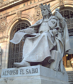 Alfonso X el Sabio (José Alcoverro) 02.jpg