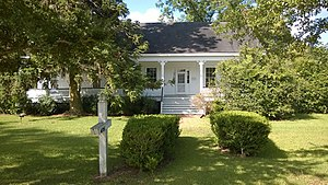 National Register of Historic Places listings in Copiah County, Mississippi - Image: Alford little house