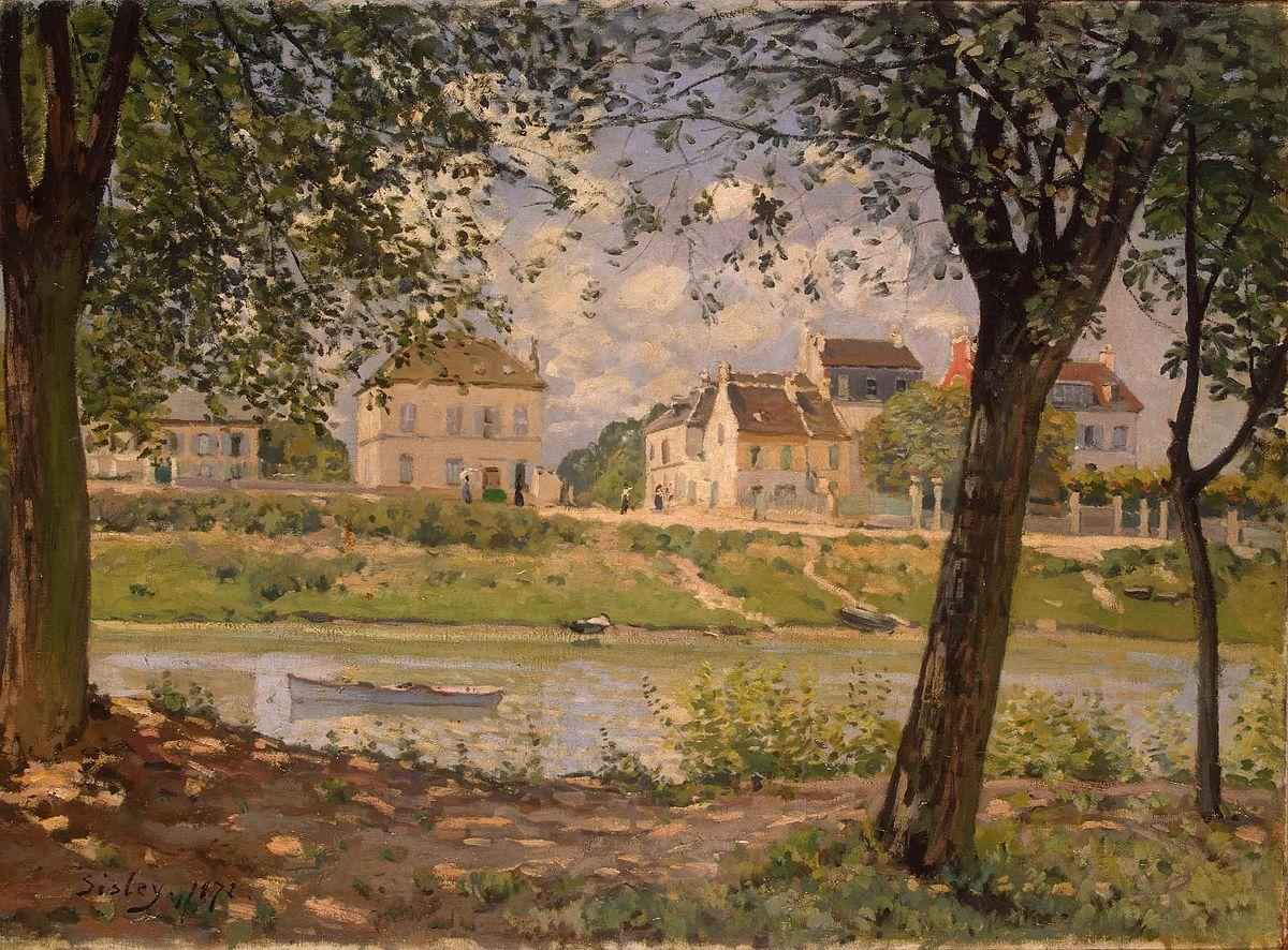 Paris Materiaux Villeneuve La Garenne villeneuve-la-garenne (painting) - wikipedia