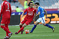 Ali Karimi on the dribble against Esteghlal FC.jpg