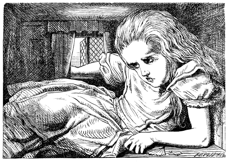 Alice par John Tenniel