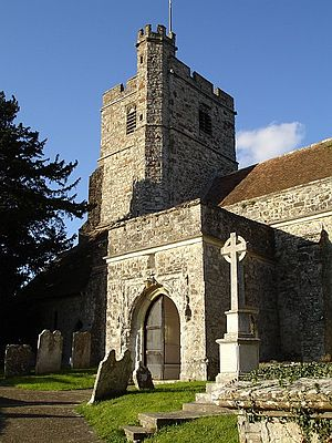 Ulcombe - Image: All Saints' Church, Ulcombe geograph.org.uk 74189