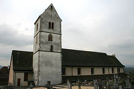 Alle - Alle village church, Saint Jean Baptiste Church