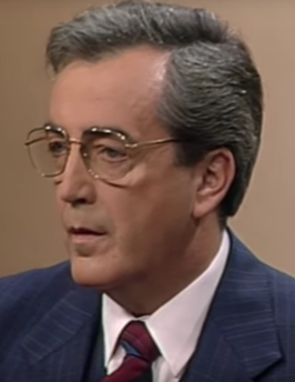Alois Mock in 1986
