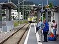 Alstom Coradia Continental in den baden-württembergischen Landesfarben auf der Höllentalbahnim Bahn 2.jpg