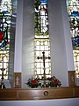 Altar and Bentinck window, St Ternan's Banchory - geograph.org.uk - 1636664.jpg
