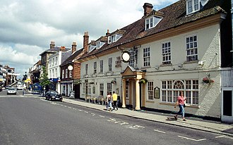 Alton, Hampshire - Image: Alton geograph.org.uk 56453