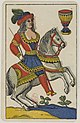 Aluette card deck - Grimaud - 1858-1890 - Knight of Cups.jpg