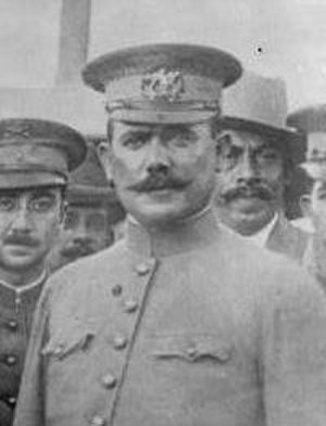 Battle of Celaya - Constitutionalist Army Gen. Álvaro Obregón, whose victory over Pancho Villa propelled him to national prominence. He became president of Mexico in 1920.