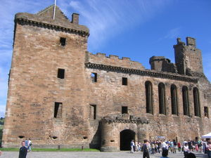 Linlithgow Palace - The south face of Linlithgow Palace
